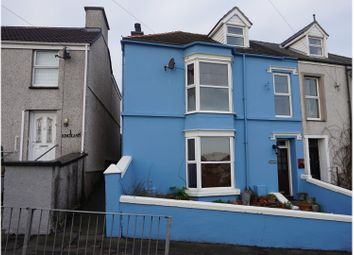Thumbnail 5 bed semi-detached house for sale in Kingsland Road, Holyhead