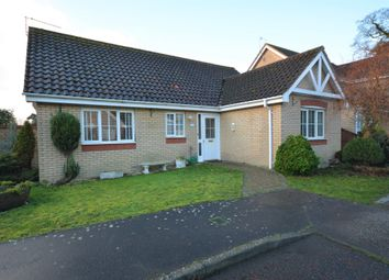 Thumbnail 3 bed detached bungalow for sale in The Pastures, Lowestoft