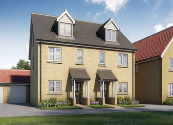 Thumbnail 3 bed semi-detached house for sale in The Carmack B, Four Elms Place, Main Road, Chattenden, Rochester