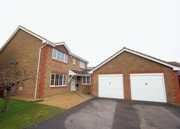 Thumbnail 4 bed detached house for sale in Howard Close, Lee-On-The-Solent
