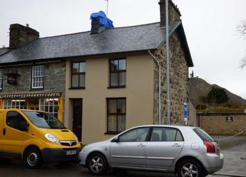 Thumbnail 3 bed end terrace house for sale in Church Street, Tremadog, Porthmadog, Gwynedd