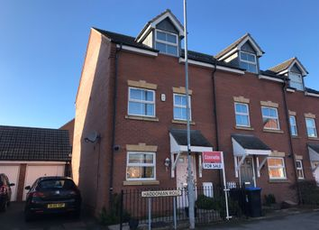 Thumbnail 3 bed terraced house for sale in Haddonian Road, Market Harborough