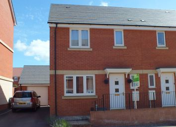 Thumbnail 3 bed semi-detached house for sale in Mascroft Road, Paxcroft Mead, Trowbridge