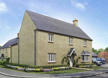 "Thumbnail 4 bedroom detached house for sale in ""The Stamford"" at Ashton Road, Roade, Northampton"