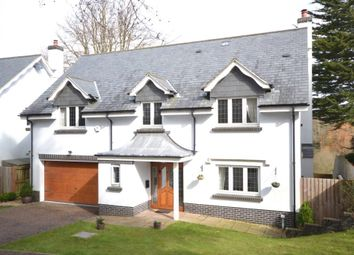 Thumbnail 4 bedroom detached house for sale in Clyst Hayes Gardens, Budleigh Salterton, Devon
