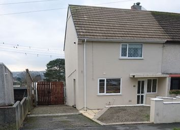 Thumbnail 2 bed semi-detached house for sale in Poldrea, Tywardreath, Par