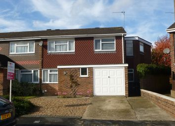 Thumbnail 4 bedroom semi-detached house for sale in Lampits, Hoddesdon