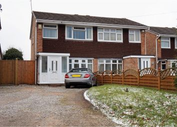 Thumbnail 3 bed semi-detached house for sale in Broad Lane North, Willenhall