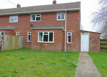 Thumbnail 2 bed semi-detached house to rent in Yeo Road, Chivenor, Barnstaple