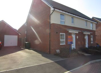 Thumbnail 3 bed semi-detached house to rent in Foxglove Way, Clanfield, Hampshire