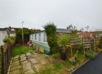 Thumbnail 1 bed mobile/park home for sale in Woodvale Park, Sutton Road, St.Albans