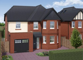 Thumbnail 5 bedroom detached house for sale in Lightwater, Surrey