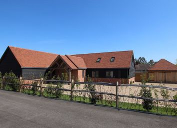 Thumbnail 4 bed detached bungalow for sale in Hermongers Lane, Cox Green, Rudgwick