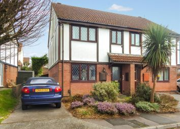 Thumbnail 3 bed semi-detached house for sale in Hatherleigh Drive, Newton, Swansea