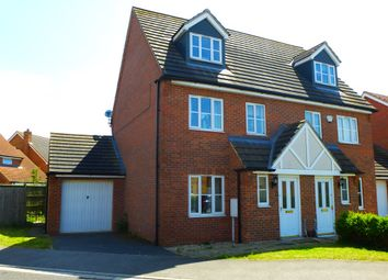 Thumbnail 3 bed semi-detached house for sale in Orchard Close, Billinghay, Lincoln