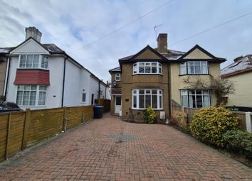 Thumbnail 3 bed semi-detached house to rent in Stroude Road, Virginia Water