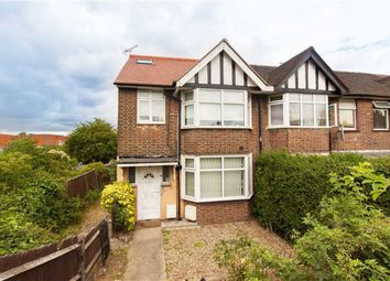 Thumbnail 3 bed end terrace house to rent in Western Avenue, London