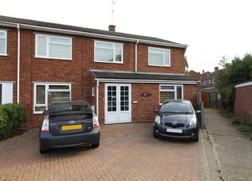 Thumbnail 4 bed semi-detached house for sale in Queen Anne Gardens, West Mersea, Colchester