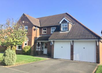 Thumbnail 4 bed detached house for sale in Shoveller Drive, Apley, Telford