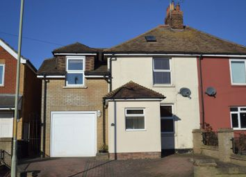 Thumbnail 3 bed semi-detached house for sale in Canterbury Road, Willesborough, Ashford