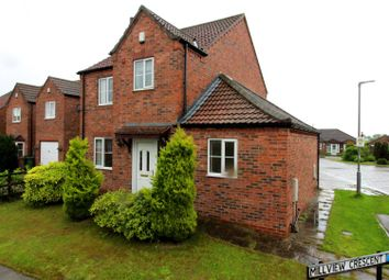 Thumbnail 3 bedroom detached house for sale in Mill View Crescent, Beeford, Driffield