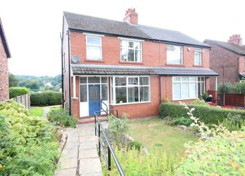 Thumbnail 3 bed semi-detached house for sale in Ernocroft Road, Marple Bridge, Stockport