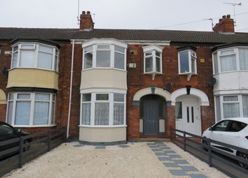 Thumbnail 3 bed terraced house for sale in Woldcarr Road, Hull