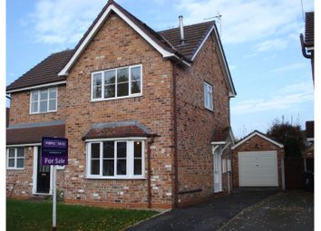 Thumbnail 2 bed semi-detached house for sale in Mulberry Gardens, Sandbach