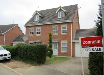 Thumbnail 3 bedroom semi-detached house for sale in Foxglove Close, Corby