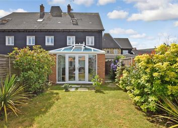Thumbnail 3 bed town house for sale in Brampton Field, Ditton, Aylesford, Kent