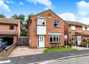 Thumbnail 4 bedroom detached house for sale in Wigsley Close, Lincoln