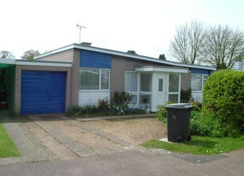 Thumbnail 2 bed detached bungalow to rent in Queens Drive, Mildenhall