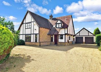 Thumbnail 4 bed detached house for sale in West Hythe Road, Hythe, Kent