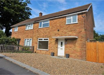 Thumbnail 3 bed semi-detached house for sale in Holly Road, Rochester