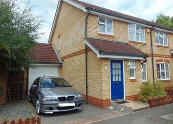 Thumbnail 3 bed semi-detached house to rent in Kestrel Close, Kingsnorth, Ashford