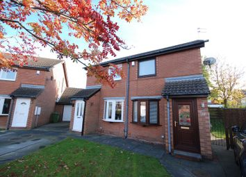 Thumbnail 2 bed semi-detached house for sale in Leander Court, Stakeford, Choppington