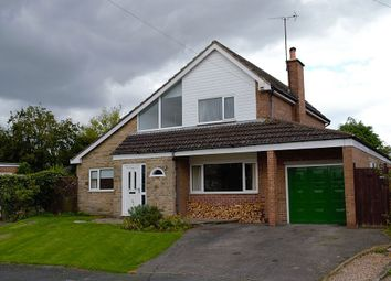 Thumbnail 4 bed detached house for sale in Crestholme Close, Knaresborough, North Yorkshire
