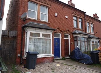 Thumbnail 3 bed terraced house to rent in Selsey Road, Edgbaston, Birmingham