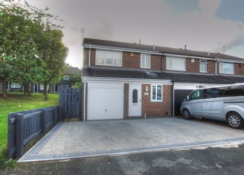 Thumbnail 3 bed end terrace house for sale in Thornbury Close, Newcastle Upon Tyne