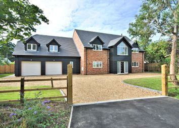 Thumbnail 5 bed detached house for sale in The Old, Bar Drove, Friday Bridge, Wisbech