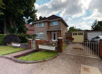 Thumbnail 3 bed detached house for sale in Pendwyallt Road, Whitchurch, Cardiff