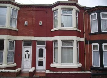 Thumbnail 3 bed terraced house to rent in Linwood Road, Tranmere, Wirral