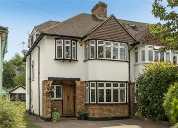 Thumbnail 4 bed semi-detached house for sale in The Woodlands, Esher, Surrey