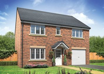 "Thumbnail 4 bed detached house for sale in ""The Strand"" at Middlewich Road, Holmes Chapel, Crewe"