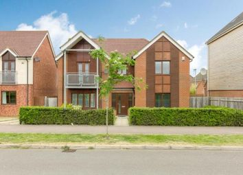 Thumbnail 4 bed detached house for sale in Watercress Way, Broughton, Milton Keynes