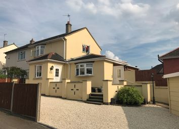 Thumbnail 3 bedroom semi-detached house for sale in Greenbank Road, Netherhall, Leicester