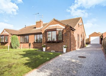 Thumbnail 2 bed bungalow to rent in B Highfields, Crowle, Scunthorpe
