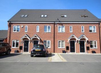 Thumbnail 3 bed town house to rent in Gilliver Close, Stretton, Burton-On-Trent
