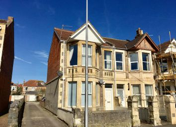 Thumbnail 2 bed flat for sale in First Floor Flat, Moorland Road, Weston-Super-Mare