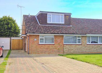 Thumbnail 4 bedroom semi-detached bungalow for sale in Stroud Green Drive, Bognor Regis